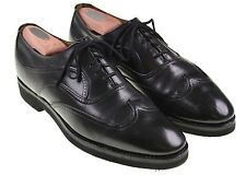 Church's Custom Grade Black Leather Austerity Wingtip Oxford Shoes 10