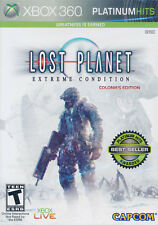 Lost Planet Extreme Condition XBOX 360 GAME BRAND NEW SEALED **CLEARANCE**