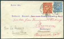 BOLIVIA TO GERMANY Re-sent Cover VF