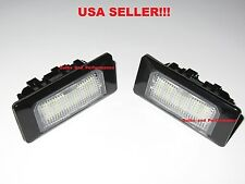 VW WHITE LED LlCENSE PLATE LIGHT KIT CANBUS ERROR FREE GOLF JETTA TOURAG
