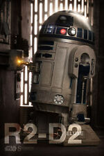 SIDESHOW EXCLUSIVE STAR WARS R2-D2 1/6 Scale Figure DELUXE R2D2 Sold Out 21721