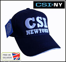 LICENSED BLUE CSI NEW YORK CITY CAP CRIME SCENE INVESTIGATION NY POLICE NYC HAT