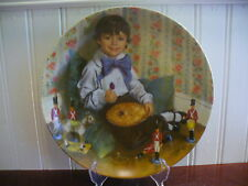 1982 Reco Little Jack Horner Mother Goose Plate by John McClelland