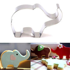 FD2925 Stainless Steel Cookie Cutter Cake Baking Mould Biscuit Elephant Mould ☆