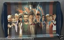 DW01427 Doctor Who All 11 Doctors Tea Serving Tray~50th Anniversary~BBC Sci Fi