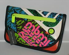 =FUN= MARC JACOBS Stylish Youth Culture Print IPad IPhone Tablet Clutch Bag Case