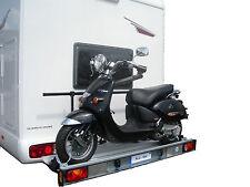 Motorradträger Rollerträger Heckträger Nutzlast 120kg Wohnmobile Reisemobil