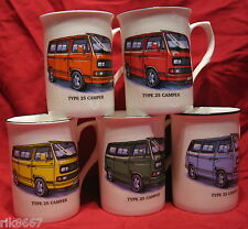 1 VW CAMPER VAN TYPE 25 Fine Bone China Mug  Cup