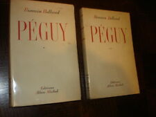 PEGUY - Romain Rolland 1944 - 2 tomes