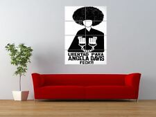 Liberen a Angela Davis derecho civil Black Panther Gigante impresión arte cartel del panel nor0401
