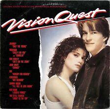 VISION QUEST OST MADONNA JOURNEY FOREIGNER HAGAR DIO 1985 LP GEFFEN GHS 24063 EX
