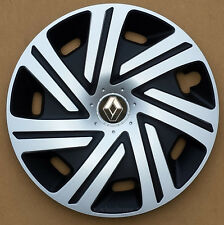 "Brand New black/silver  14"" wheel trims hub caps to fit Renault Clio"