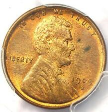 1909-S VDB Lincoln Wheat Cent 1C - PCGS MS64 RB PQ - Rare Key Date Red Penny