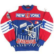 Vintage Starter NY New York Giants Sweatshirt 90s Hip Hop Rap LT NFL Football