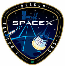 Framed Print - ISS Falcon 9 Mission Patch/Badge/Insignia Picture Poster NASA ART