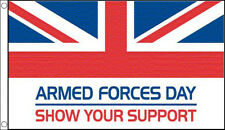 BRITISH ARMED FORCES DAY FLAG 5' x 3' British Army Royal Navy RAF Air Force