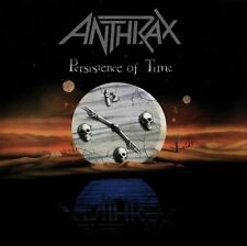 ANTHRAX Persistence Of Time CD BRAND NEW