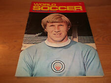 Football Magazine World Soccer January 1972 West Ham Sammy McIlroy Allison Coker