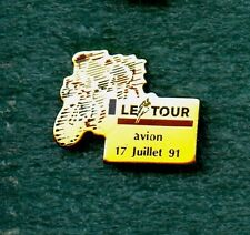 CYCLING Tour de France 17 Juillet 1991 Pin Enamel Avion