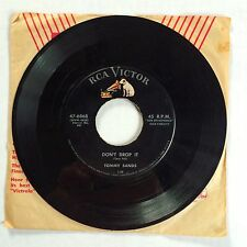 "TOMMY SANDS ""LOVE PAINS/DON'T DROP IT"" 47-6868 7"" 45 SINGLE COUNTRY BOPPER 1958"