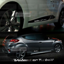 Chrome Point Door Line Guard Decal Sticker for HYUNDAI 2011-2016 Veloster Turbo