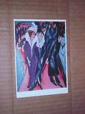 German Artist Ernst Ludwig Kirchner party the street fancy rich fur coat sexy