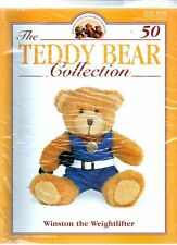 The Teddy Bear Collection Magazine - Issue.50, Winston the Weightlifter