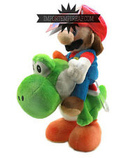 SUPER MARIO BROS. CAVALCA YOSHI PELUCHE party kart wii u new plush ride manèges