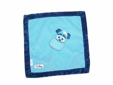Disney Sulley Monsters Inc Baby Blanket Blue Security Lovey