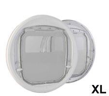 PC3-C-Pro, extra große Katzenklappe für den Glaseinbau aus Bayer-Makrolon®