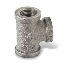 """1/2"""" BLACK MALLEABLE IRON TEE 3-way fitting pipe npt"""