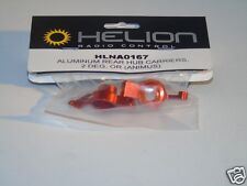 HLNA0167 Helion R/C Car Spares Aluminum Rear Hub Carriers 2 Deg Orange Animus