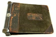 Antique 1912 Baker Vawter installment loan ledger Dime Savings and Loan Binder