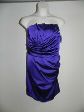 DAVIDS BRIDAL PLUS SIZE 26 REGENCY CRUMB STRAPLESS DRESS BRIDESMAID PROM NWT