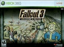 XBOX 360 Fallout 3 Collector's Edition - RARE HTF - NEW SEALED