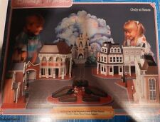ASSEMBLY INSTRUCITONS Vintage Disney MAIN STREET TOWN SQUARE DIORAMA Sears HTF