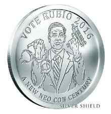 2016 1 oz RUBIO BU with  COA SILVER SHIELD GROUP  999 OLIGARCHY 777 SSG