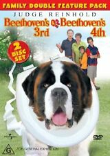 BEETHOVEN'S 3RD & 4TH Double Feature DVD R4 - New