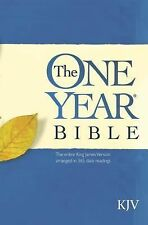 The One Year Bible KJV (1987, Paperback)