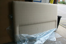 Hypnos Faye Headboard for shallow base 180 CM super king 6ft *Austen Pebble*