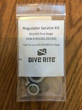 Dive Rite RG1205 (Silver)  First Stage Service Kit