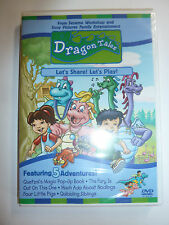 Dragon Tales: Let's Share! Let's Play! DVD PBS Kids cartoon TV show sharing NEW!
