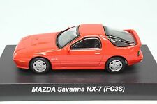 7237 Kyosho 1/64 Mazda RX-7 FC3S Red No-Box No-Crlar cover With Tracking Number