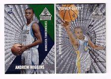 2014-15 Panini Paramount Basketball Complete Base Set w/ Rc #1-50 Wiggins QTY