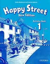 Oxford HAPPY STREET 1 Activity Book /Workbook NEW EDITION with MultiROM @NEW@