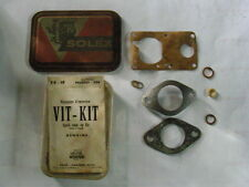 PEUGEOT 204 JOINTS CARBURATEUR SOLEX NEUF D EPOQUE