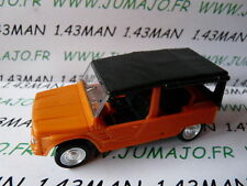 Voiture 1/43 solido citroën  MEHARI orange