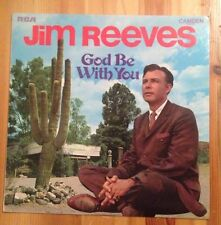 JIM REEVES - God Be With You - 1971 Vinyl LP - RCA Camden CDS-1092