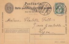 Lettre Switzerland Ambulant + Zofingen pour la France Cover Brief