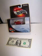 100% Hot Wheels Red Customized 1937 Ford - Boxed With Plastic Case - 2000